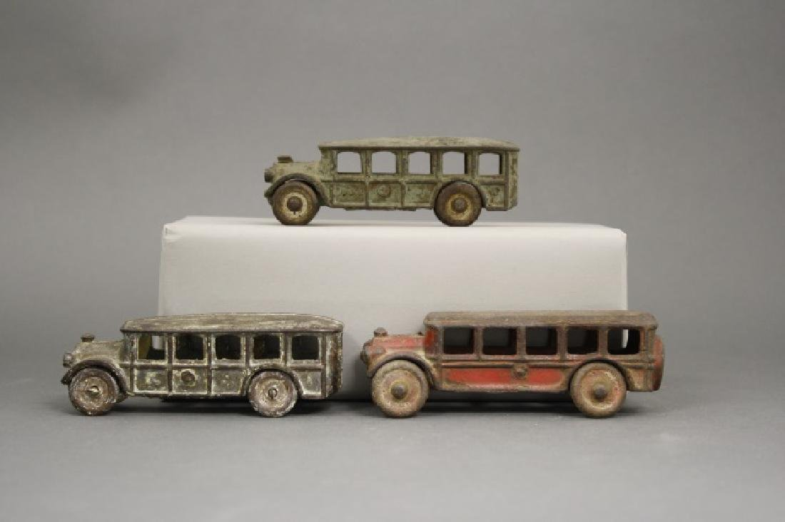 Lot: Three Buses