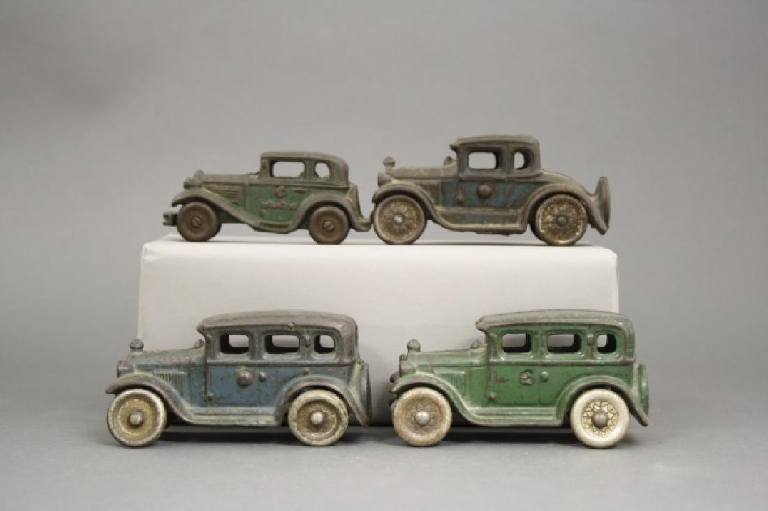 Lot: Four Austin Sedans