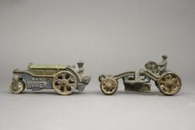 Lot: Road Roller and Road Grader