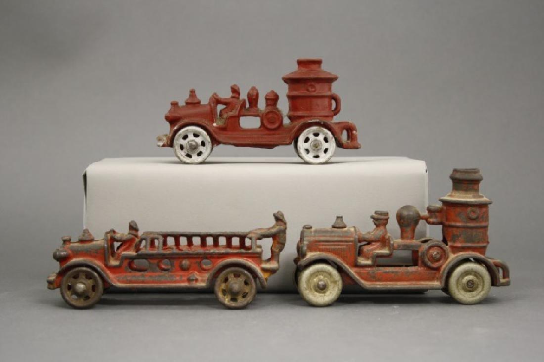 Lot: Three Fire Toys