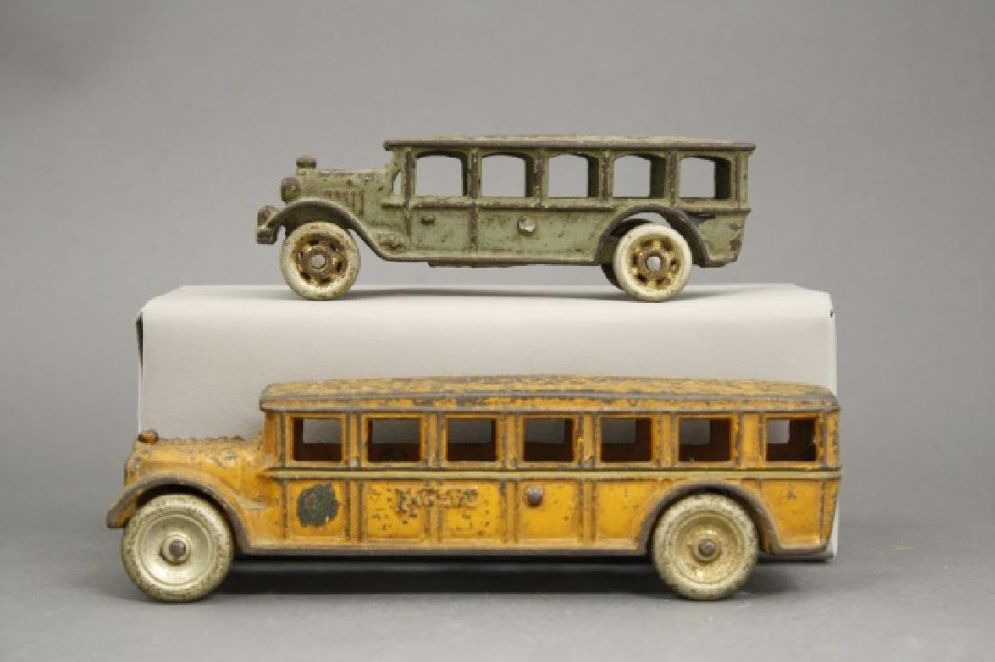 Lot: Two Buses