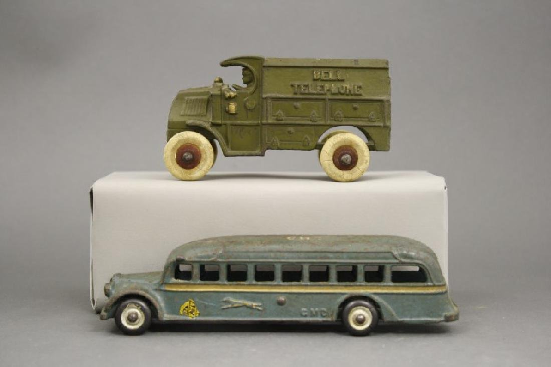 Lot: Bell Telephone Truck and Coast to Coast Bus