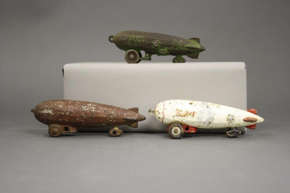 Lot: Three Zeppelins