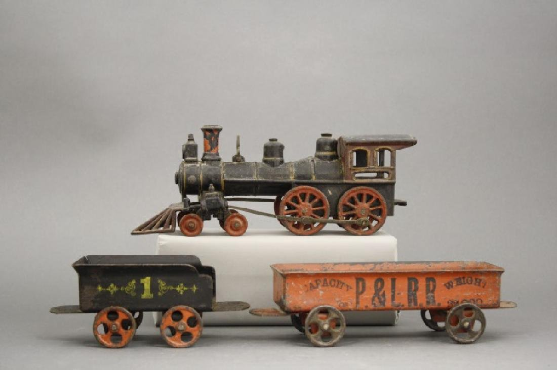 Cast Iron Floor Train