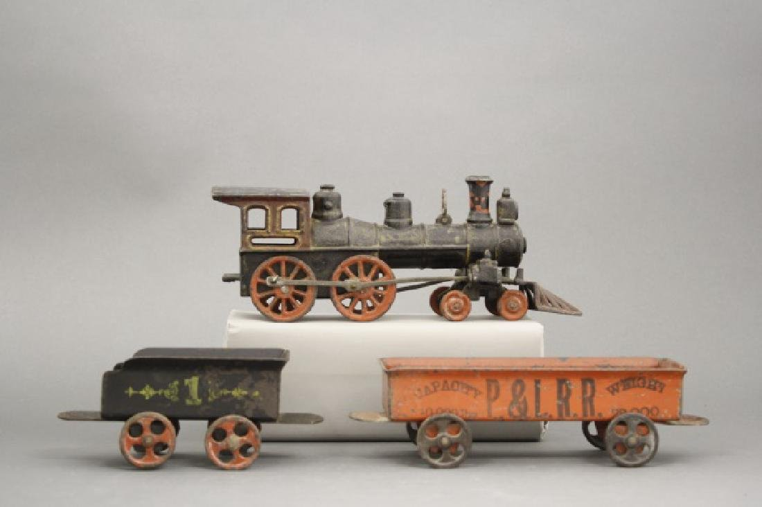 Cast Iron Floor Train - 2