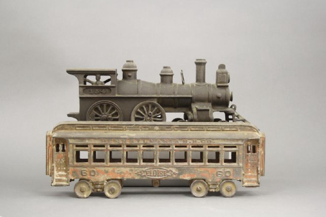 Locomotive and Passenger Car - 2