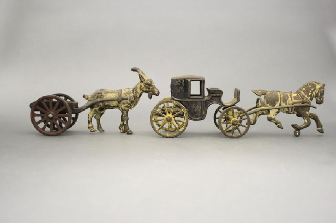 Lot: Landau and Goat Cart - 2