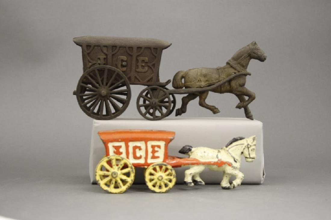 Lot: Two Ice Wagons - 2