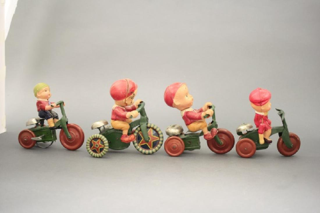 Lot: Four Tricycles
