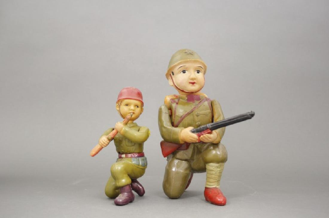 Lot: Two Soldiers