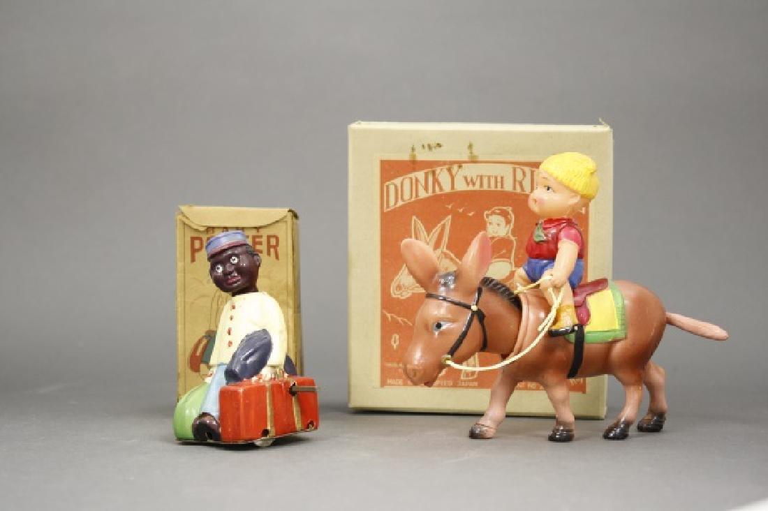 Lot: Baby Porter, Donkey with Rider