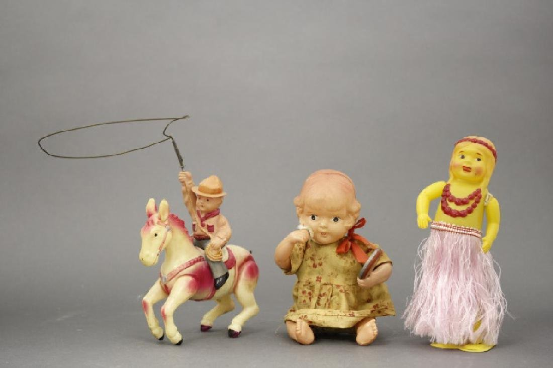 Lot: Toddler, Hula Girl, Cowboy