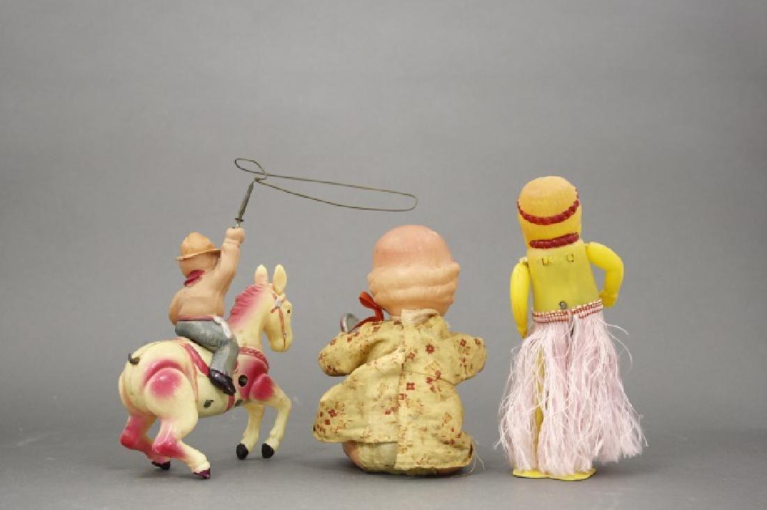 Lot: Toddler, Hula Girl, Cowboy - 2