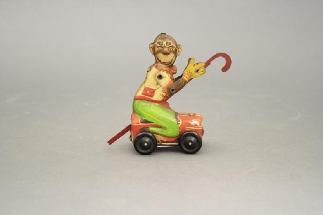 Monkey Riding Box Car