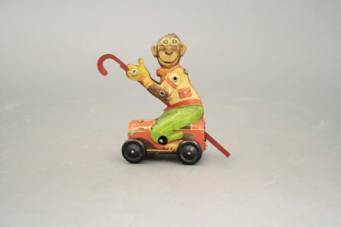 Monkey Riding Box Car - 2