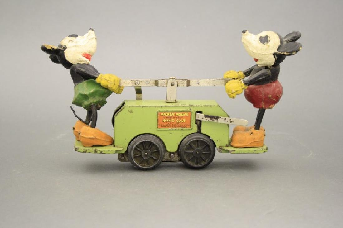Mickey Mouse Hand Car