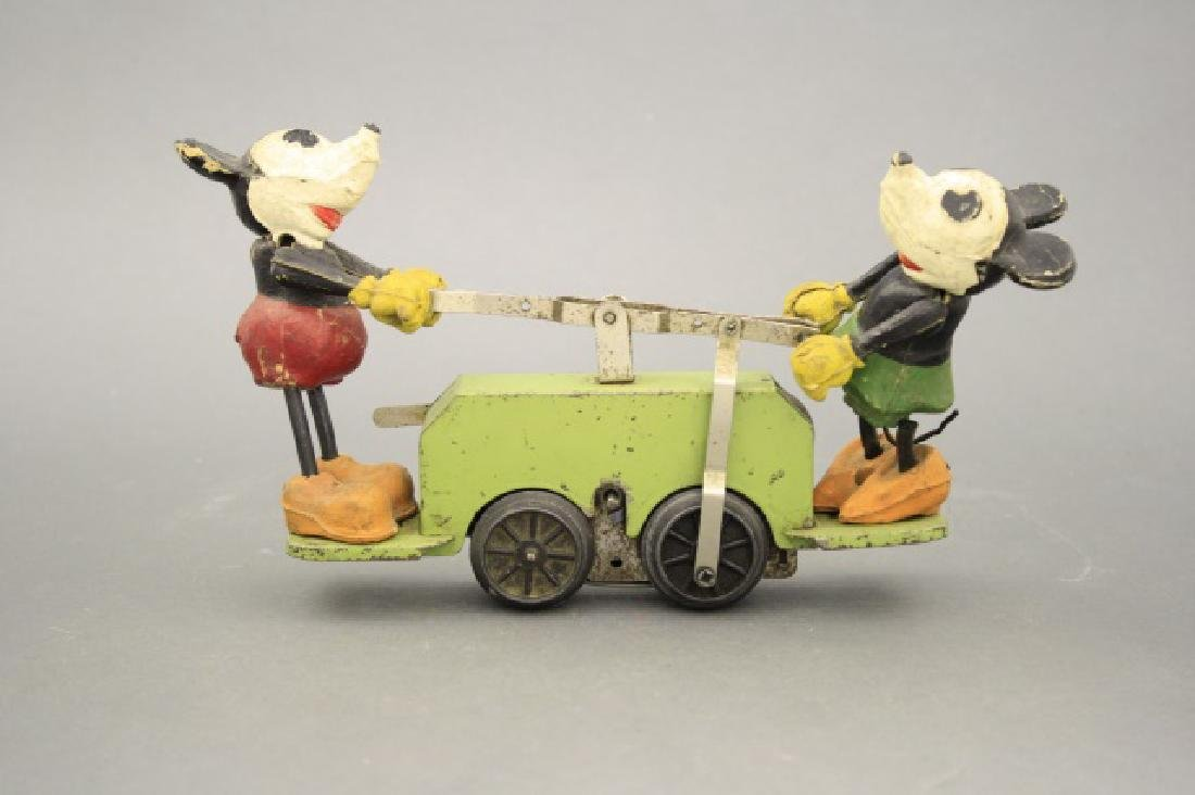 Mickey Mouse Hand Car - 2