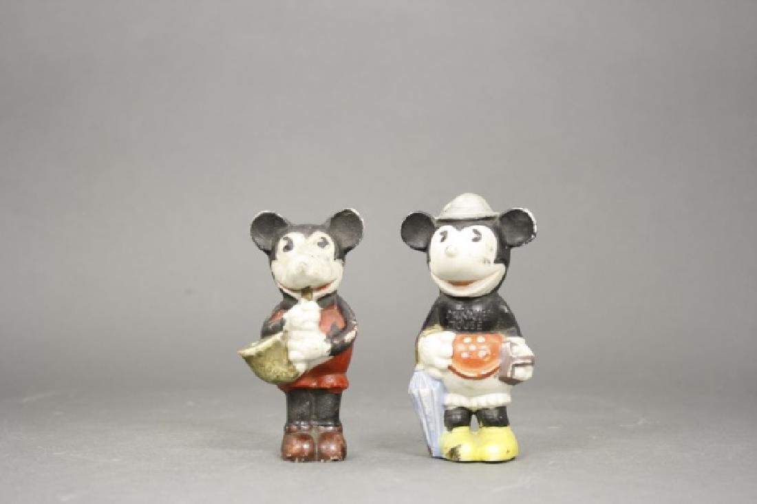 Mickey and Minnie Bisques
