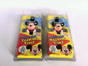 Mickey Mouse Talking Time Watches