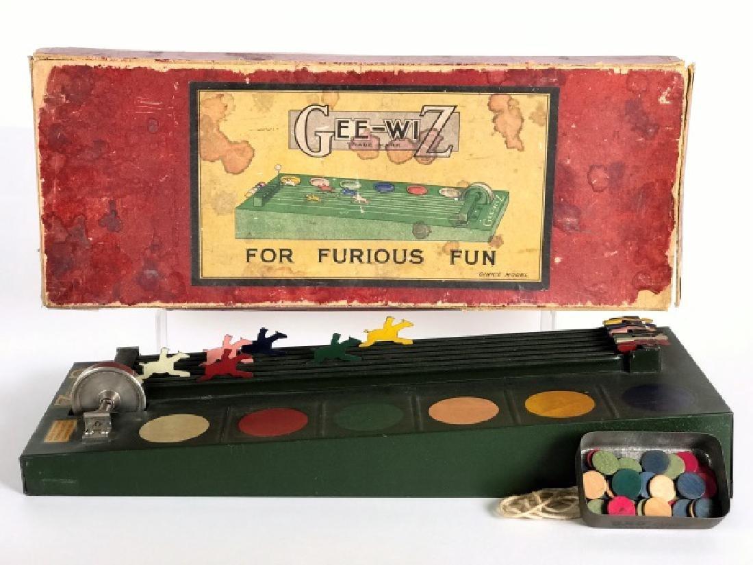 Gee-Wiz Horse Racing Gambling Game