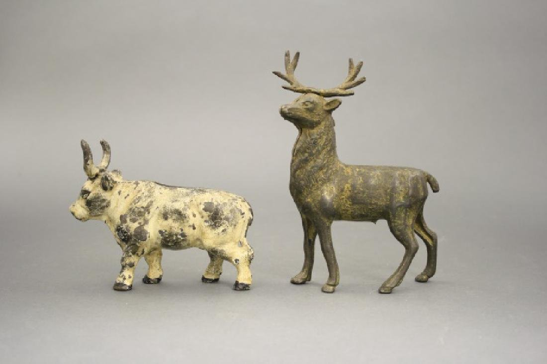 Lot: Stag and Steer
