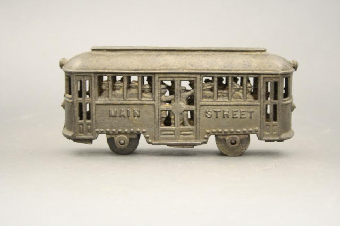 Main Street Trolley with Passengers - 2