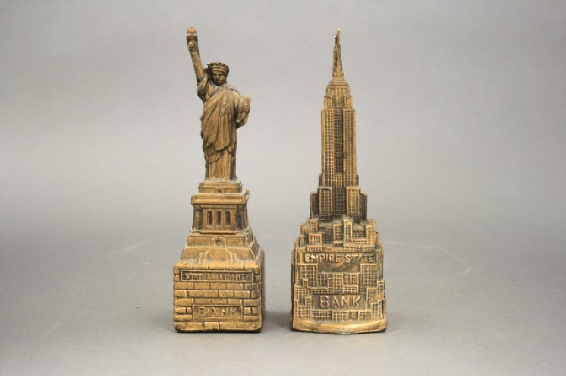 Lot: Statue of Liberty, Empire State Bank