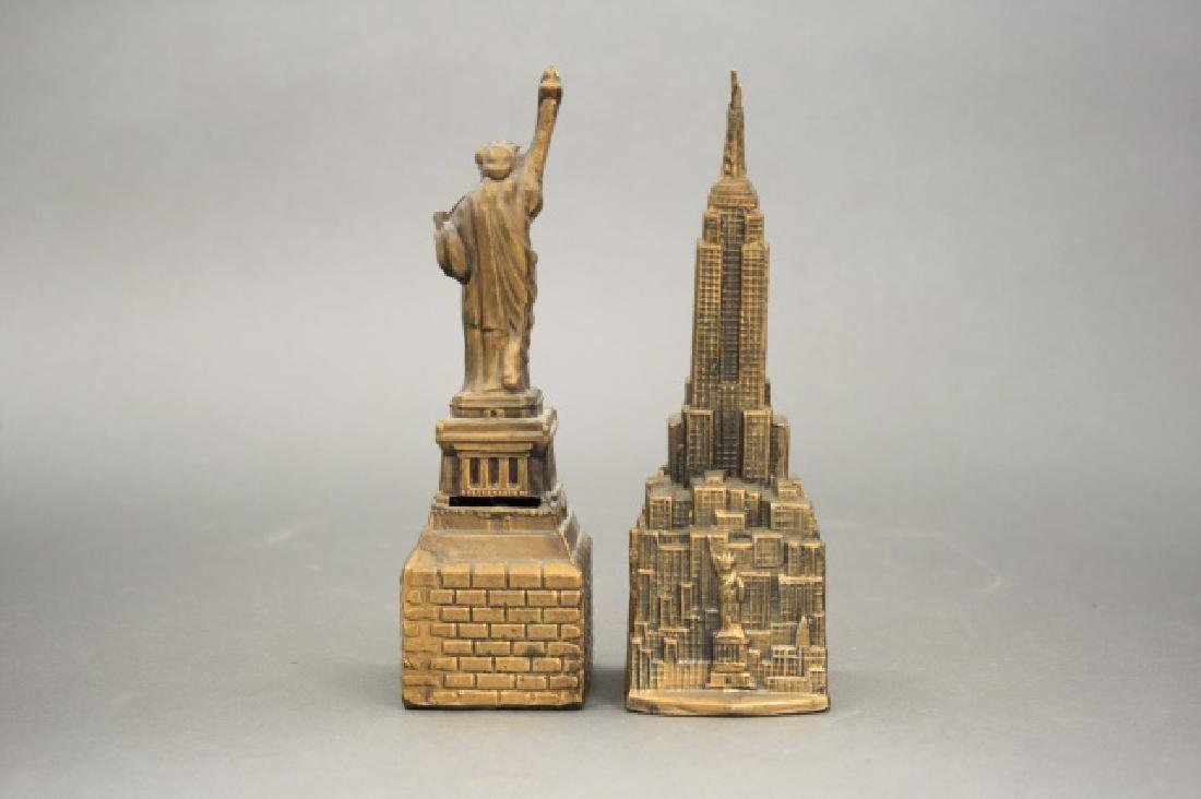 Lot: Statue of Liberty, Empire State Bank - 2