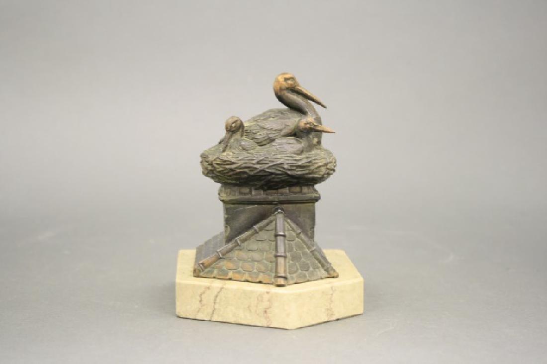 Pelican on Nest