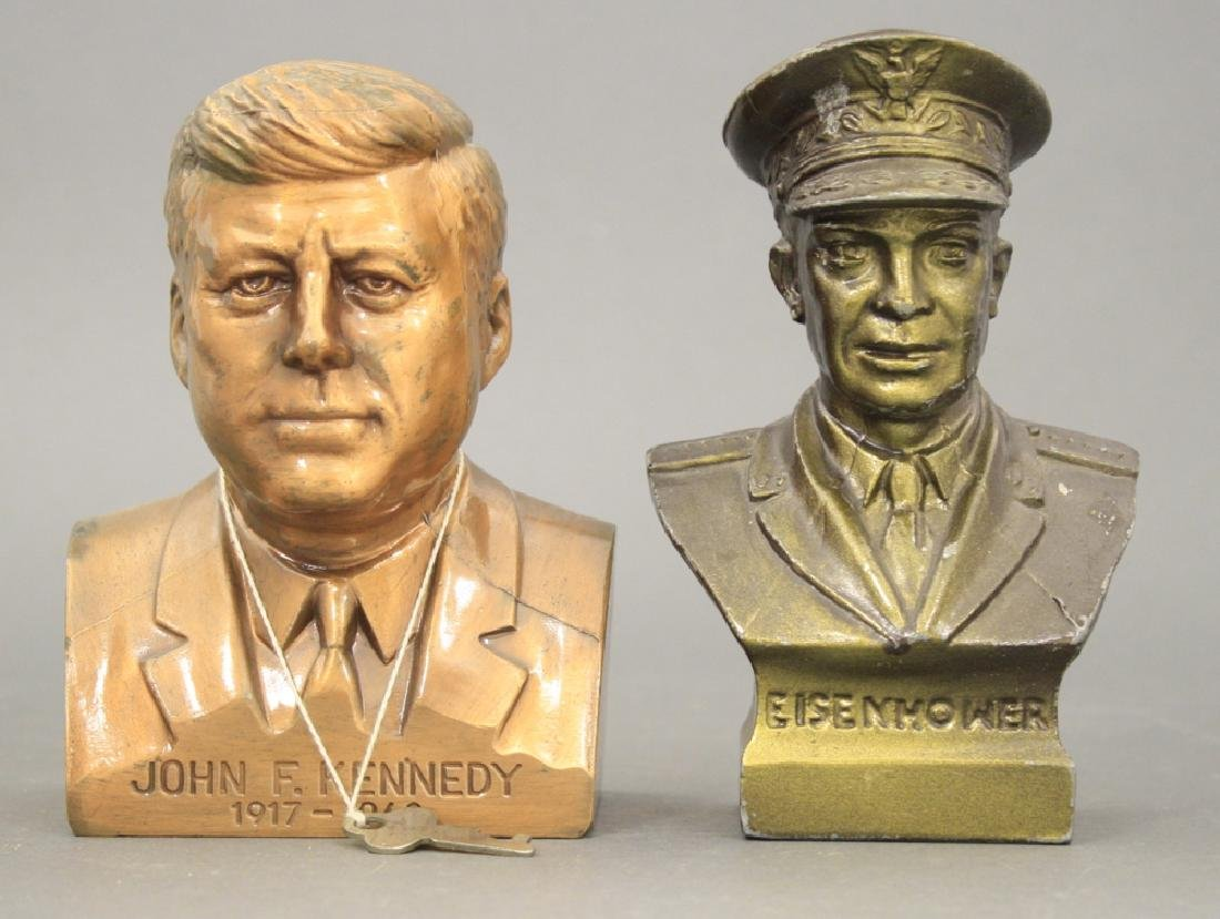 Lot: Two Bust Banks