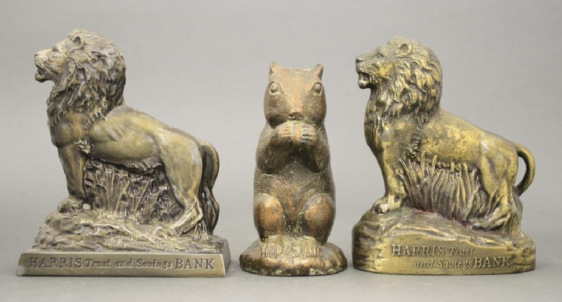 Lot: Three Animal Banks