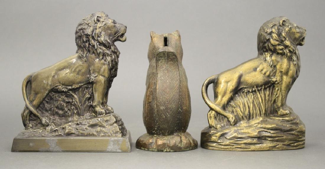 Lot: Three Animal Banks - 2