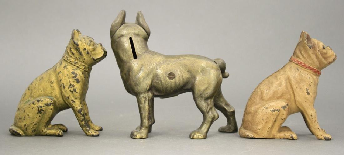 Lot: Three Dog Banks - 2