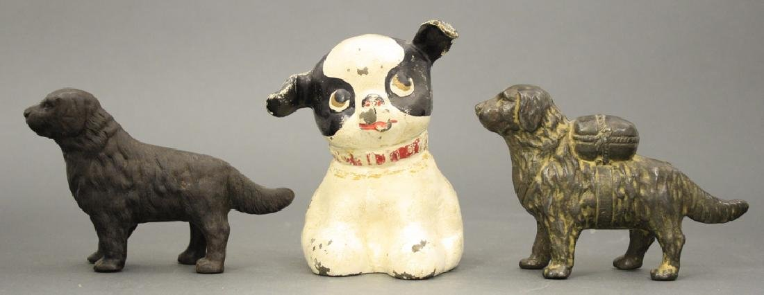 Lot: Three Dog Banks