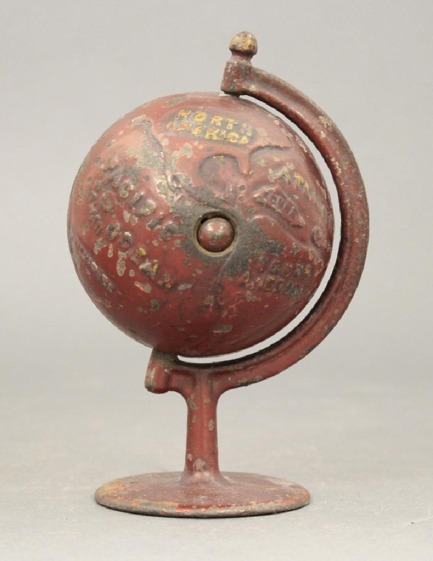 Globe on Arc