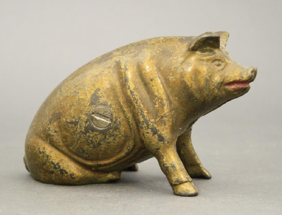 Seated Pig - 2