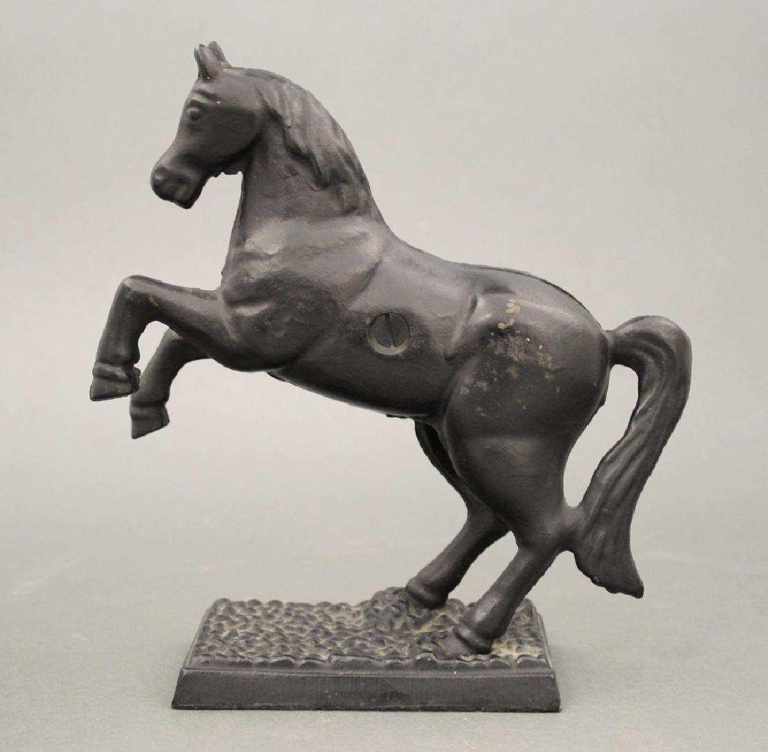 Horse on Pebble Base