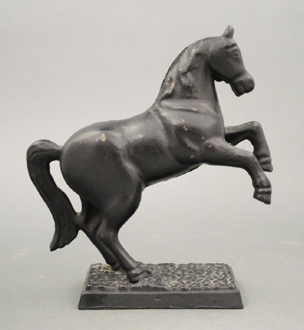 Horse on Pebble Base - 2