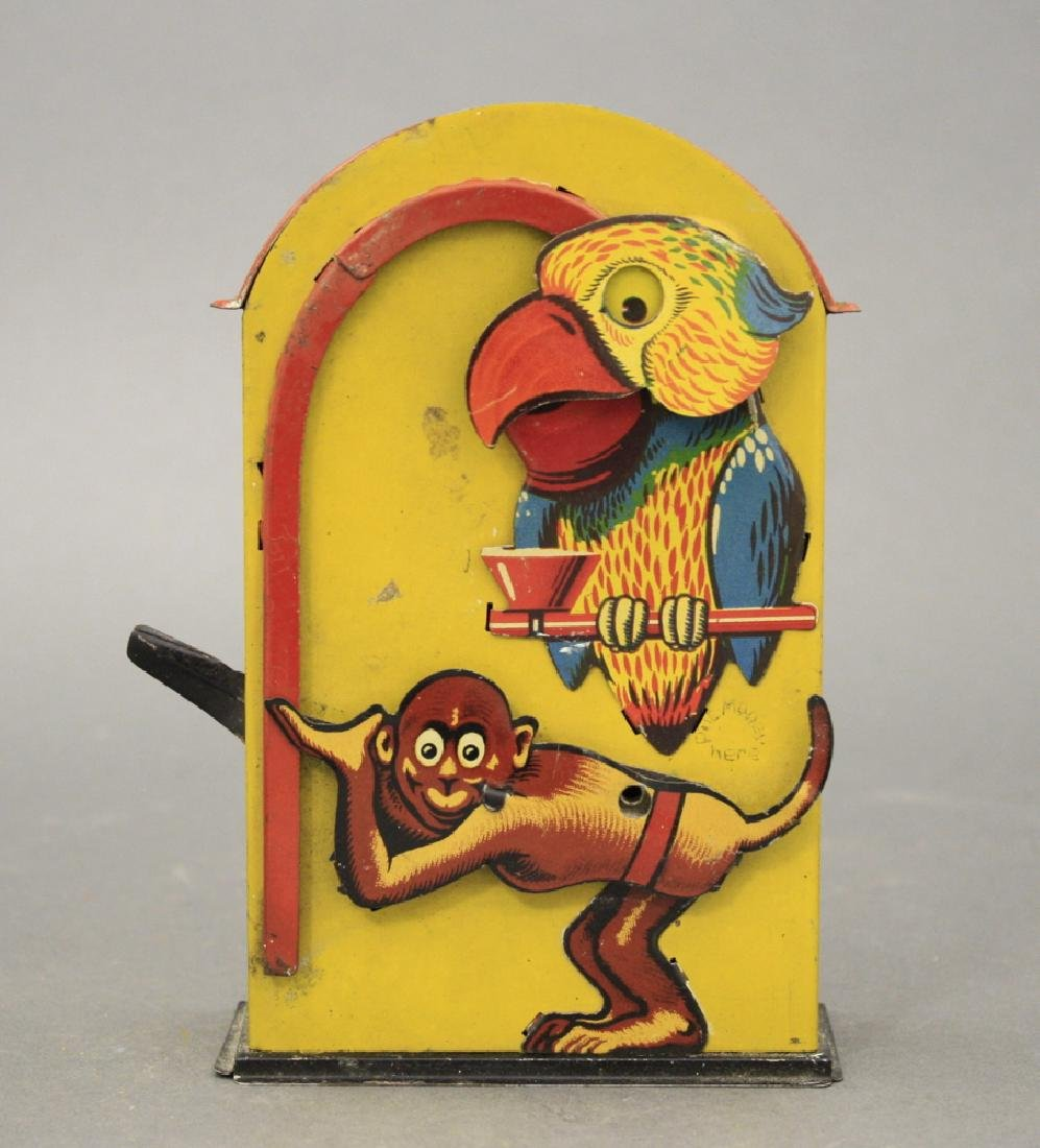 Monkey and Parrot