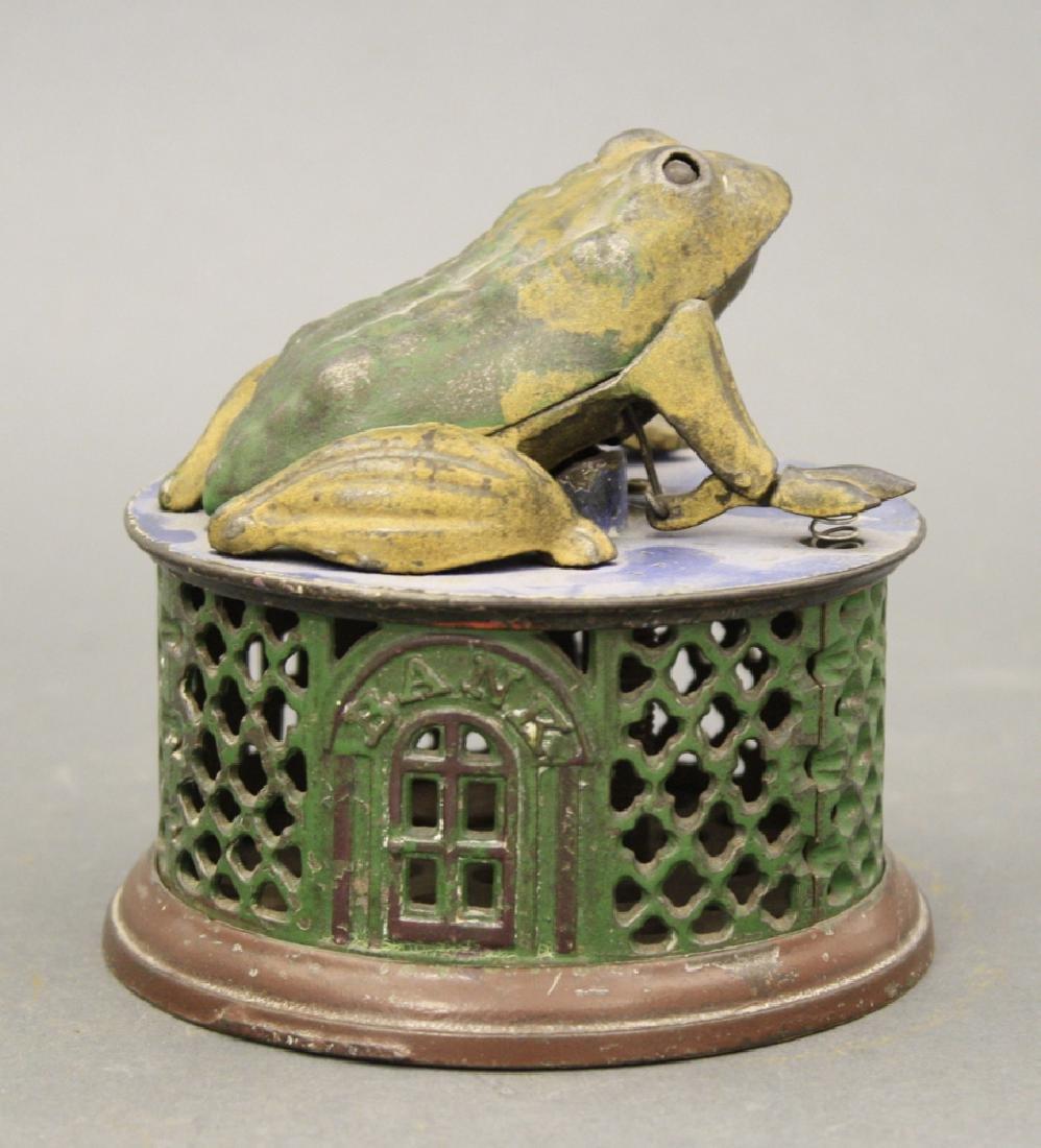Frog on Lattice - 2
