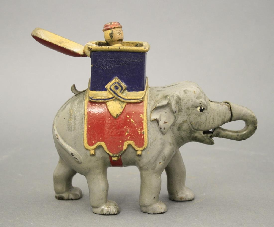 Elephant Howdah, Man Pops Out