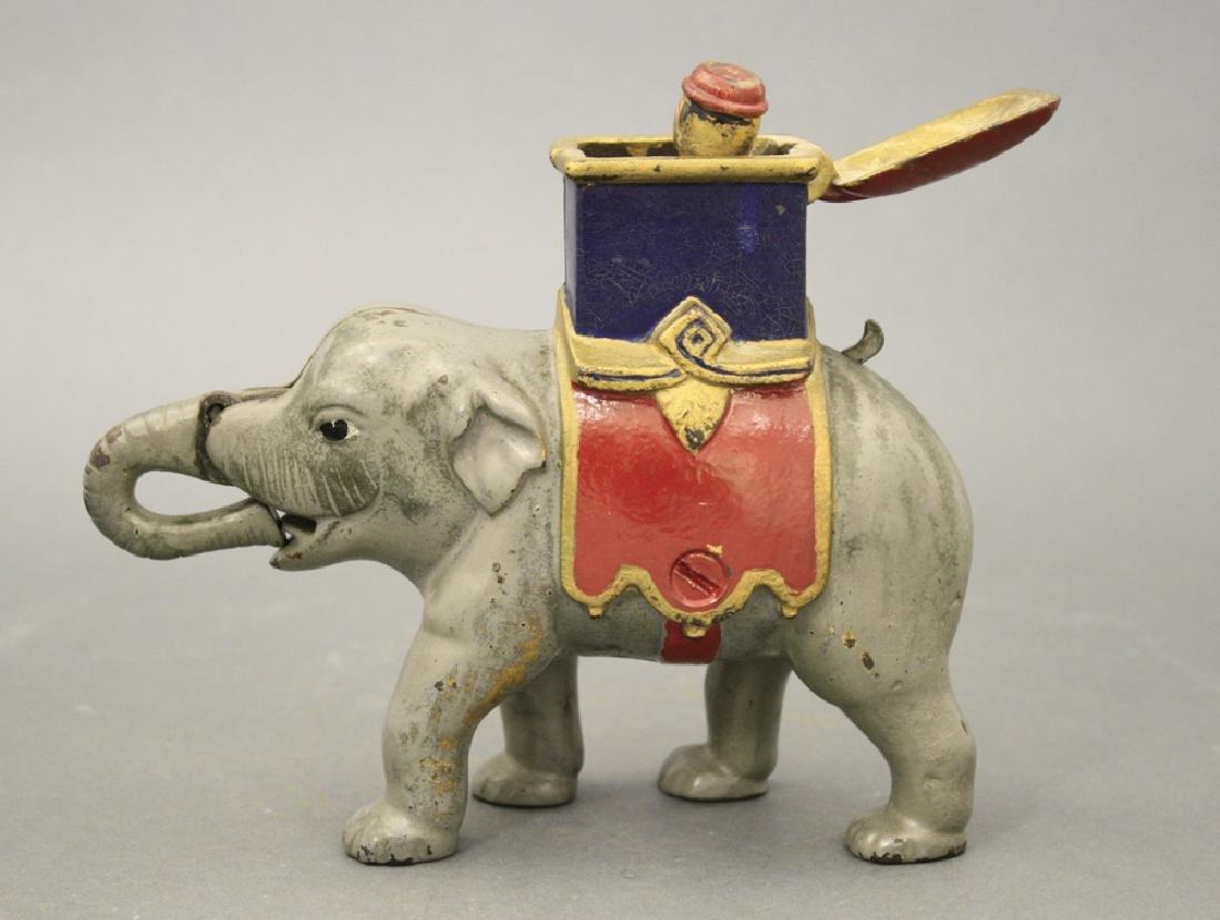 Elephant Howdah, Man Pops Out - 2