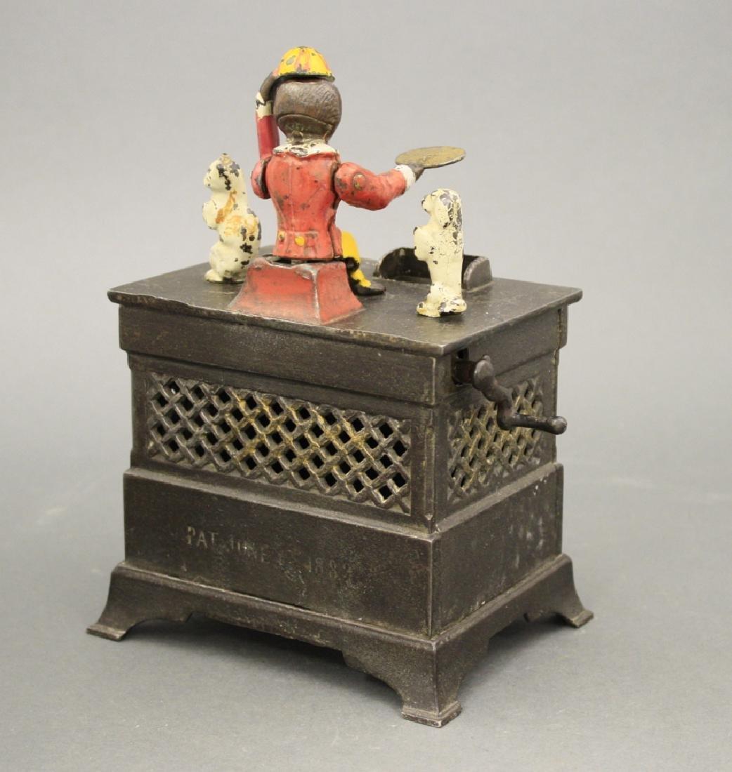 Organ Mechanical Bank, Cat and Dog - 2
