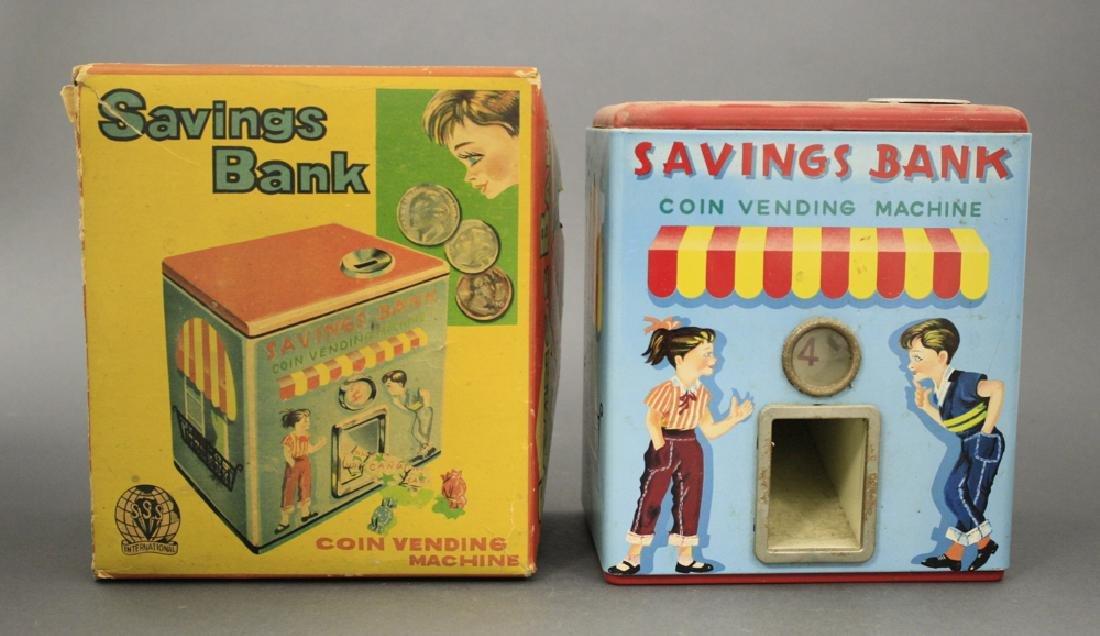 """""""Savings Bank"""" Coin Vending"""