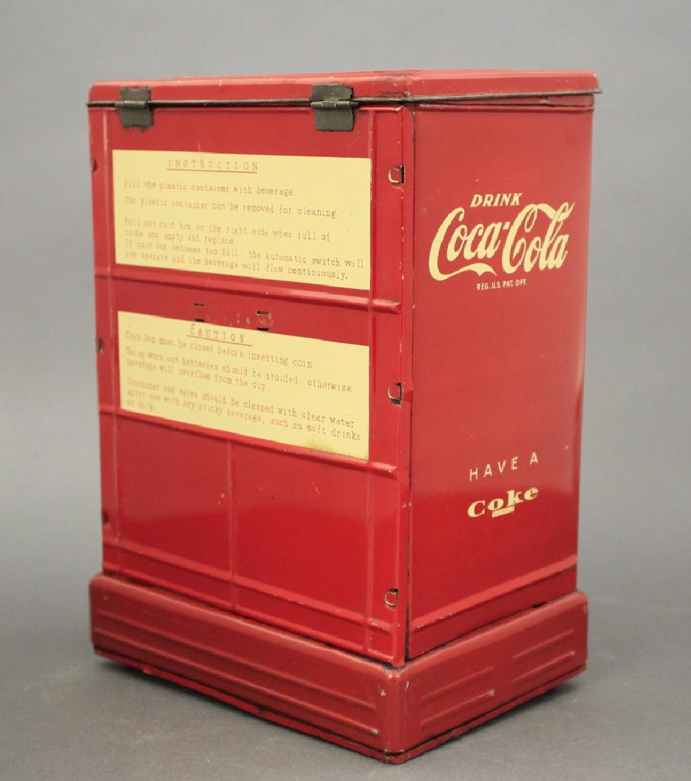 Coca-Cola Bank, Battery Operated - 2