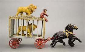 Royal Circus Lion Cage Wagon