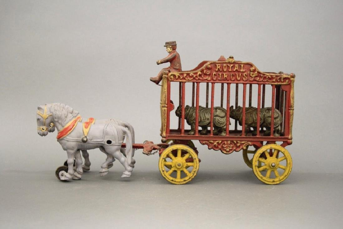 Royal Circus Rhino Cage Wagon - 2