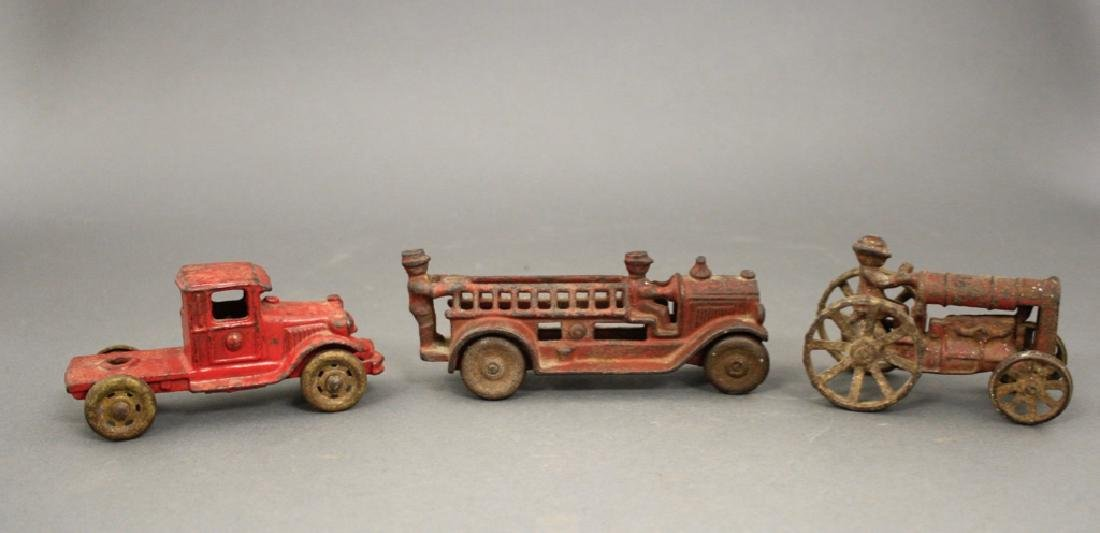 Lot: Three Cast Iron Toys - 2