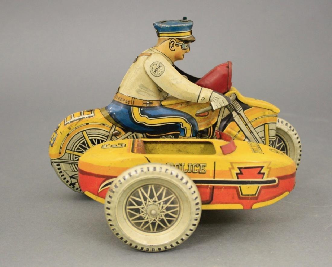 Motorcycle & Sidecar - 2