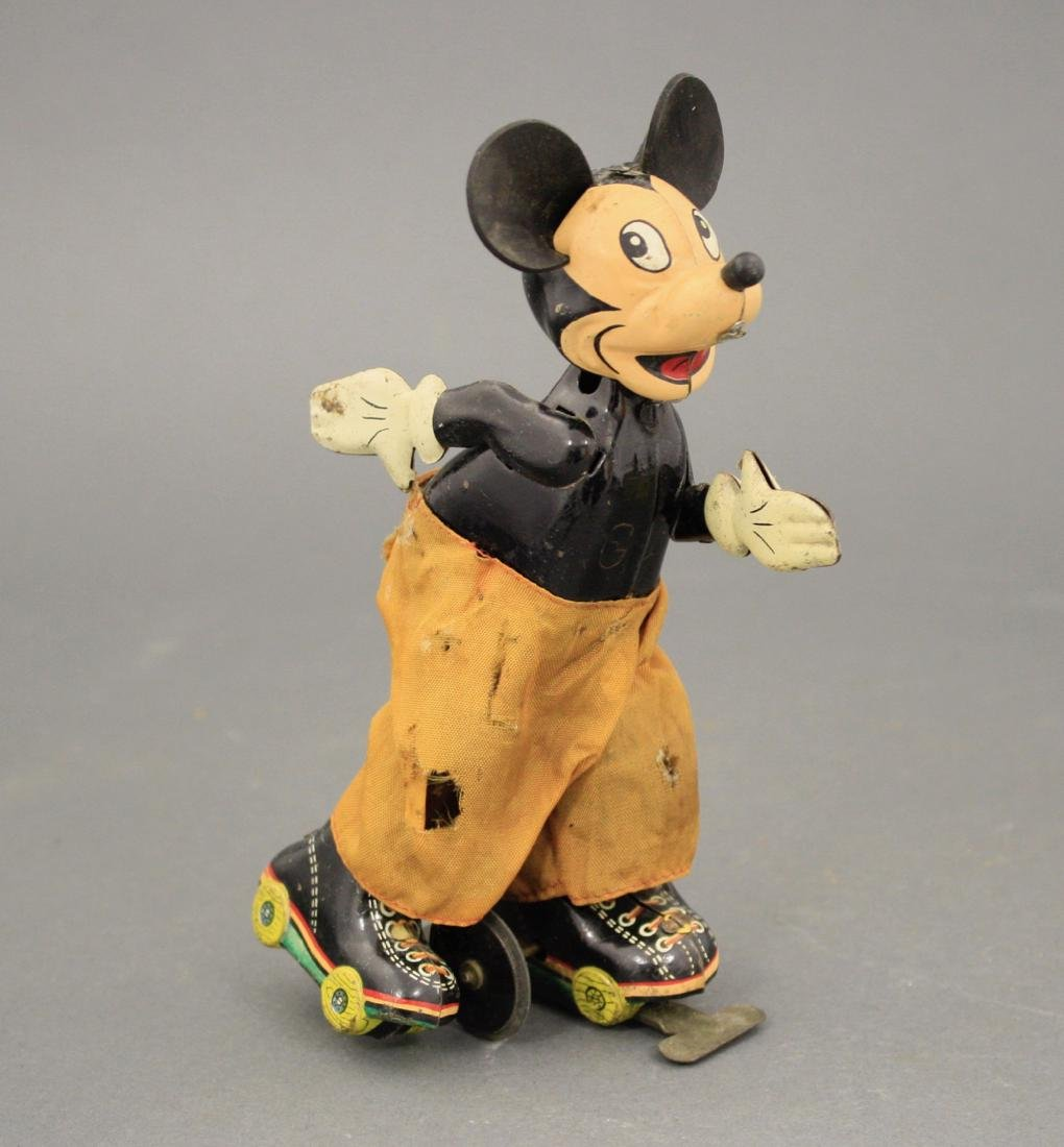 Skating Mickey Mouse